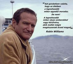 Robin Williams idézet