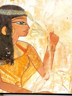 Nakht's Tomb Ancient Egyptian Paintings, Ancient Egypt Art, Ancient Symbols, Egyptian Art, Ancient Artifacts, Ancient Egyptian Religion, Virtual Art, African History, Ancient Civilizations