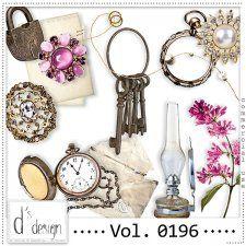 Vol. 0196 - Vintage Mix  by Doudou's Design  #CUdigitals cudigitals.com cu commercial digital scrap #digiscrap scrapbook graphics