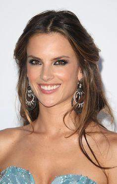 Alessandra Ambrosio for Reanna Love the color of her hair