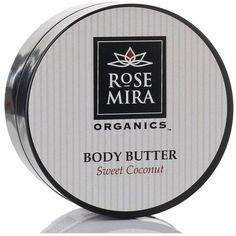 Rosemira Organics - Sweet Coconut Body Butter featuring polyvore, beauty products, bath & body products, body moisturizers, body moisturiser and body moisturizer