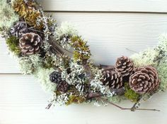 Natural Forest Wreath For Rustic Decor Covered in Branches