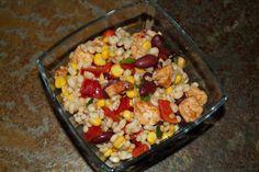 Kulinarna pasja: Sałatka z kaszy jęczmiennej po meksykańsku Healthy Recipes, Healthy Foods, Vegetables, Drink, Salad, Recipes, Health Foods, Beverage
