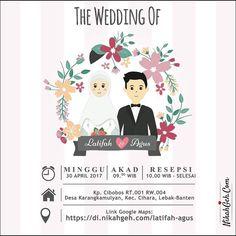 https://nikahgeh.com - E-invitation Latifah & Agus Tanya-tanya atau info lebih lanjut hubungi : WA : 08561410064 Line : nikahgeh #weddingserang#undanganserang #infoserang #undanganminimalis #simpleinvitation #undanganpernikahanmurah #undangancantik #pesanundangan #invitationserang#kotaserang#undangancilegon #undanganpandeglang#undanganmurah #undanganpernikahan#undanganonline #undangankreatif#undanganunik#nikah #nikahgeh#desainundangan#undanganlucu #digitalinvitation#einvitation#babyshower…