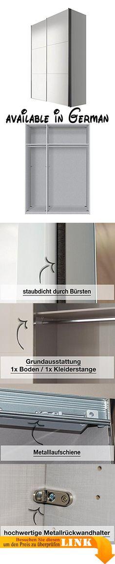 B00UACLJI0  Schwebetürenschrank Kleiderschrank 2-türig 54025 weiß