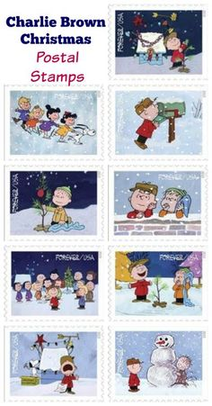 2015 Holiday stamps announced--Charlie Brown
