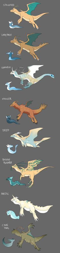 It's been about a year since I did the Hydreigons and Dragonites, hasn't it 8'| welp. I asked around on my twitter ( @ ZhoidArts ) for suggestions regarding variation sheets and one of the ones tha...