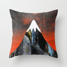 Two worlds (Part 2) Throw Pillow by Elisabeth Fredriksson - $20.00