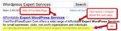 Optimize Your Title and Description Tags