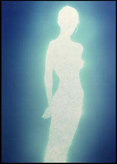 alteregoisma:By Christopher Bucklow. These photograms are made by tracing the silhouette of his. The Wicked The Divine, Plakat Design, Mo S, Retro Futurism, Blue Aesthetic, Psychedelic Art, Art Plastique, Aesthetic Pictures, Wall Collage