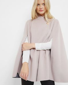 Reversible wrap over cape - Pink | Jackets & Coats | Other Europe Site