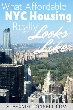 Do you think it's too expensive to live in New York City? Many people assume it's impossible to live in NYC, but I can show you to live in NYC while on a budget. Here are some tips on how to find an affordable NYC apartment.