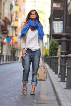 boyfriend jeans with cardigan- How to rock the boyfriend jeans http://www.justtrendygirls.com/how-to-rock-the-boyfriend-jeans/