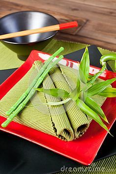 red and green asian table setting - Google Search & traditional chinese table setting - Cerca con Google | Table ...