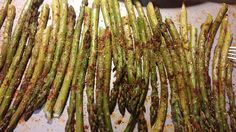 Smokey Oven Roasted Asparagus - Low Carb Lifestyle