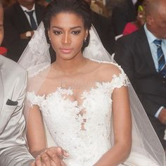 Osi Umenyiora Leila Lopes wedding 4