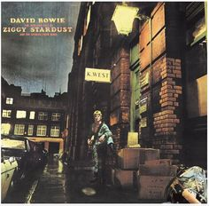 Every track on #ZIGGY #STARDUST & THE SPIDERS FROM MARS sounds like it was pulled from the rock 'n' roll bible. The album created a mythology that reached beyond the Chuck Berry folklorisms of the everyday rocker to create a new type of rock star. #DavidBowie #David #Bowie #Starman #SuperBowl #ad #CD