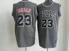 Camisetas de Baloncesto NBA Chicago Bulls Jordan  23 Gris 01 Camisetas De  Baloncesto 7f484d70c2e