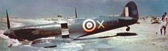 A RAF's Spitfire VC forced to land because battle damages on the Scoglitti's shore, near Ragusa, SE Sicily. The aircraft, of No 185 Squadron RAF based at Malta, was down by the Macchi MC.202 of Italian Air Force's 51st Stormo, took off from Gela air base, on 9 September 1942.