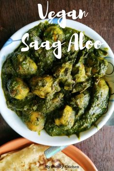 Aloo palak is a vegan potato curry cooked in spinach or palak gravy and other aromatic spices. gluten free vegan and healthy curry. Aloo Recipes, Chutney Recipes, Curry Recipes, Veggie Recipes, Indian Food Recipes, Vegetarian Recipes, Healthy Recipes, Spicy Recipes, Vegan Meals