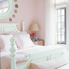Light Pink Bedrooms On Pinterest Bedrooms Beds And