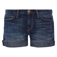 Current/Elliott The Boyfriend Stretch-Denim Shorts