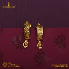 Gold 916 Premium Design Get in touch with us on India Jewelry, Kids Jewelry, Pearl Jewelry, Beaded Jewelry, Silver Jewelry, Gold Designs, Gold Earrings Designs, Gold Choker Necklace, Necklace Set
