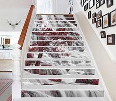 Stair Risers Murals & Decals - U.