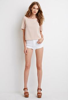 Boxy Crepe Top | Forever 21 - 2002247071