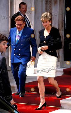 Princess Diana Birth Right Lunch Photo: Steve Finn / Alpha / Globe Photos Inc 6/2/1992 Princessdianaretro