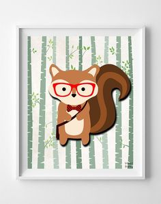 Woodland Squirrel White Background posters by Inkist Prints! This unique nursery decor print will make a great addition to any nursery and kids room. It would also be a great gift for baby shower and birthday. Baby Room Wall Art, Nursery Artwork, Nursery Decor, Nursery Room, Room Decor, Nursery Ideas, Wall Decor, Artwork Prints, Poster Prints
