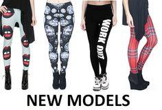 Fashion4Nation: Womens Leggings Jeggings Ladies Full Length 3D Gra...