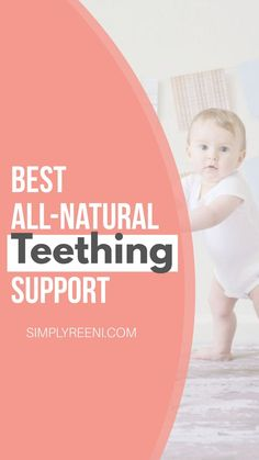 Are you looking for natural ways to help teething? Teething can be a difficult time so I'm sharing the best all-natural ways to support teething. Healthy Teeth, Healthy Kids, Healthy Living, Leg Workout At Home, At Home Workouts, Essential Oils For Babies, Essential Oil Diffuser Blends, Baby Necessities, Natural Parenting