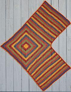 Crochet Patterns Hat Easy Granny Shawl & Ruana & Treble Crochet Hat pattern - -Mainly . Crochet Poncho Patterns, Crochet Shawls And Wraps, Crochet Jacket, Crochet Cardigan, Crochet Scarves, Crochet Clothes, Knitted Shawls, Crochet Hats, Scarf Patterns