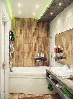 Дизайн маленькой ванной комнаты: оформление интерьера. Три способа увеличить вашу ванную комнату!