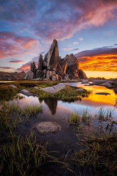 ~~Aries pool | sunrise, Snowy Mountains, Kosciuszko National Park, New South Wales, Australia | by Jake Anderson~~