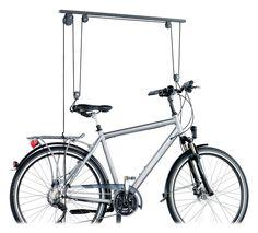 Pulley System for Bicycle Storage Bicycle Shop, Kids Bicycle, Buy Bike, Bike Store, Motorbike Storage, Bicycle Storage, Best Bike Rack, Sport Rack, Bike Storage Solutions