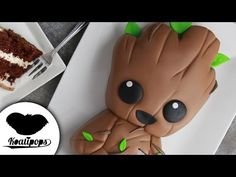 (397) Baby Groot Cake | Guardians of the Galaxy Vol. 2| Marvel Party Ideas | DIY & How To - YouTube