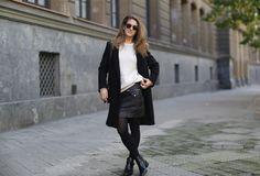 Clochet-streetstyle-sandro-coat-mango-leather-mini-celine-trio-bag-3