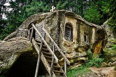 Stone House (Daniil Sihastrul) , Romania, Moldova region
