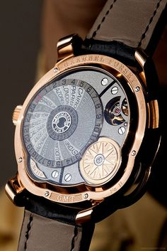 The Greubel Forsey 'GMT'.