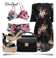 """""""Rosegal bikini sets :)"""" by newoutfit ❤ liked on Polyvore featuring dress, women and rosegal"""