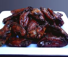La Brea Tar Pit Chicken Wings - oven cooked, not grilled