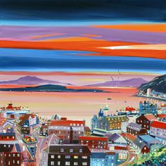 Oban at Twilight by Daniel Campbell 485 x 515 mm £22.99