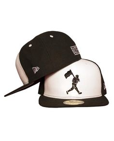 Heritage Cap - Black and White