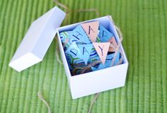 Adorable birthday in a box idea to send to someone far away.