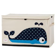 $25  24 inch wide 14.5 deep x 15h - Toy Chest (Whale)
