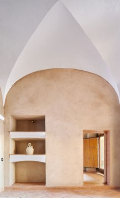 Lucas y Hernández - Gil Arquitectos, José Hevia · Rural Guesthouse VB Vernacular Architecture, Interior Architecture, Interior Design, Design Interiors, Load Bearing Wall, Rural House, Two Storey House, Small Courtyards, Small Pools
