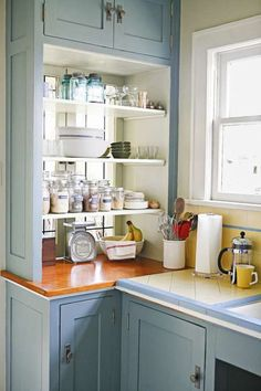 Shelves can make you weep with their ever-growing jumble of junk, or they can be…
