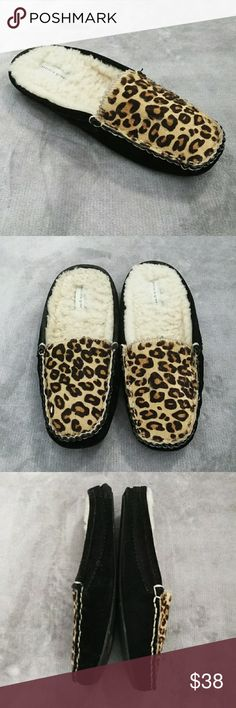 4c3691c46424 Patricia Green Animal Print Slippers These gorgeous animal print slippers  are from Patricia Green in a